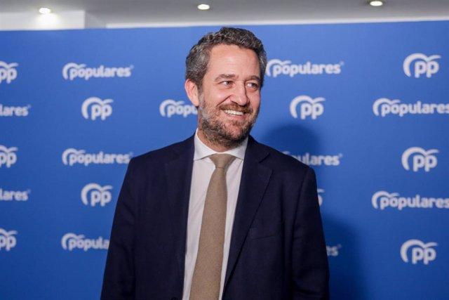 Archivo - Imagen de archivo del vicesecretario de Participación del PP, Jaime de Olano