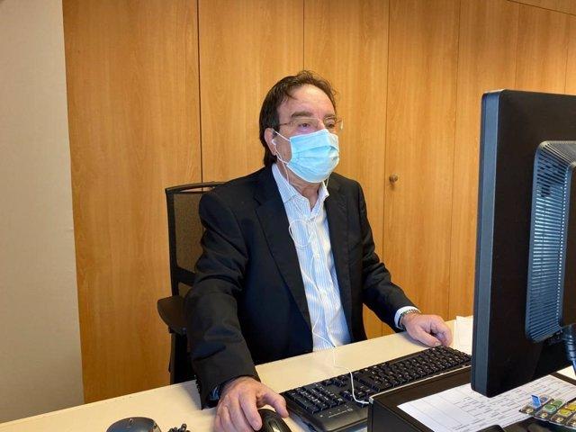 Amós García, jefe del servicio de Epidemiología del Servicio Canario de Salud