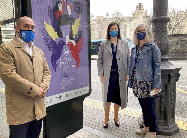 Campaña de igualdad en Santander