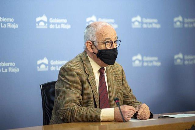 El consejero de Educación, Pedro Uruñuela