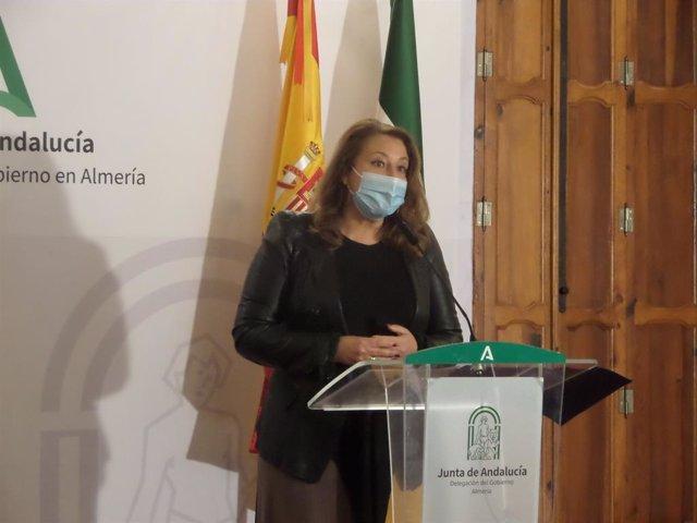 La consejera de Agricultura, Ganadería, Pesca y Desarrollo Sostenible de la Junta de Andalucía, Carmen Crespo
