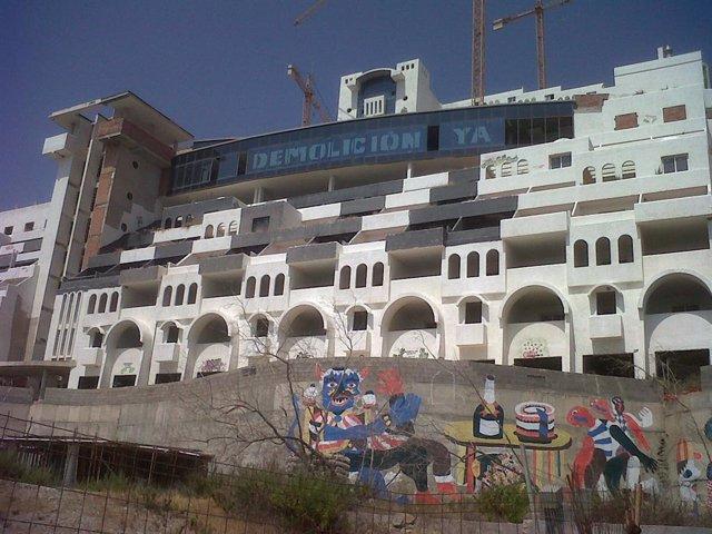Archivo - El hotel de El Algarrobico