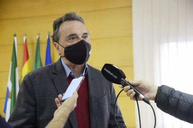 El alcalde de Torremolinos, José Ortiz, en una imagen de archivo