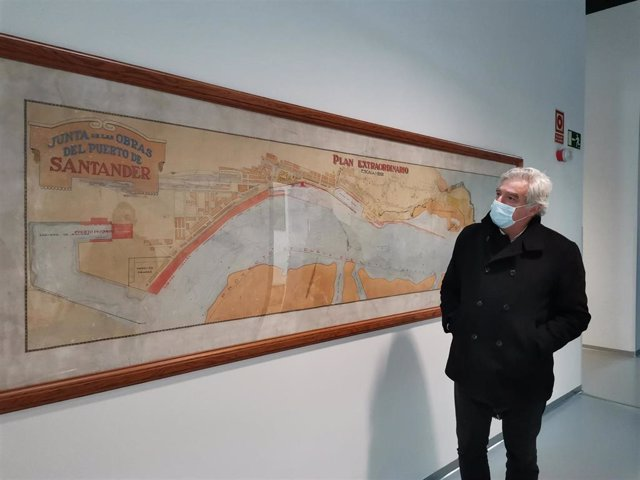 Archivo - El portavoz del PRC de Santander, José María Fuentes-Pila. Archivo