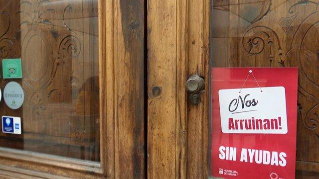 Archivo - Cierre de la hostelería y restauración en la Comunitat Valenciana  (archivo)