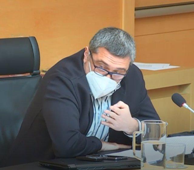 El procurador de Por Ávila, Pedro Pascual.