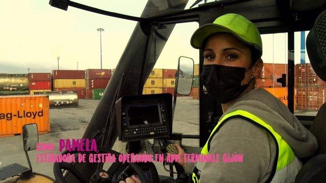 Fotograma del vídeo de la campaña del 8M del Ayuntamiento de Gijón