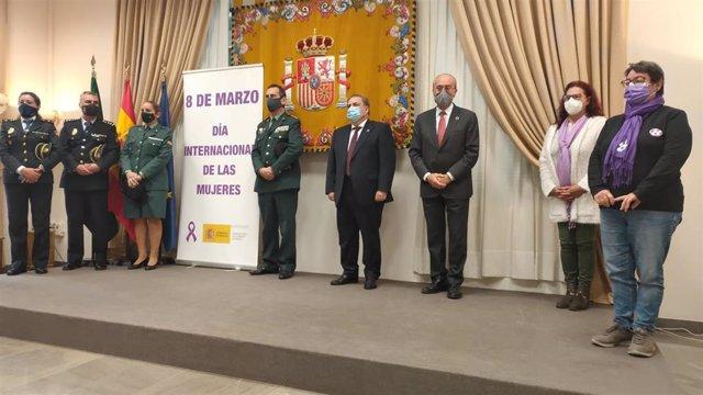 Acto por el Día Internacional de la Mujer en la Subdelegación del Gobierno en Málaga