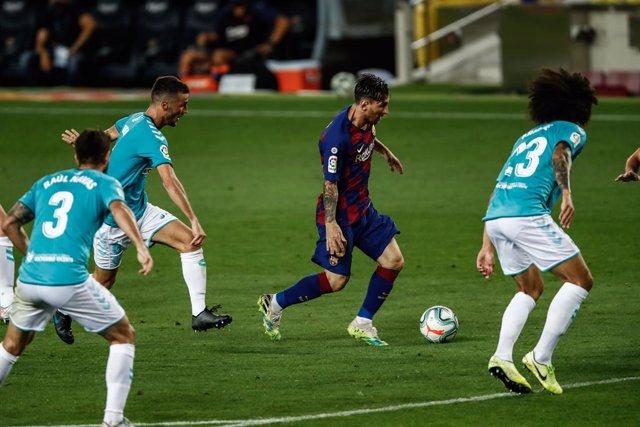 Archivo - Messi en el Barcelona - Osasuna