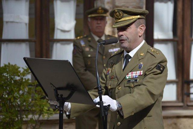 El coronel del Ejército de Tierra Jaime Galera García, presidente de la Comisión Permanente del Consorcio del Castillo de San Carlos y director del Centro de Historia y Cultura Militar de Baleares.