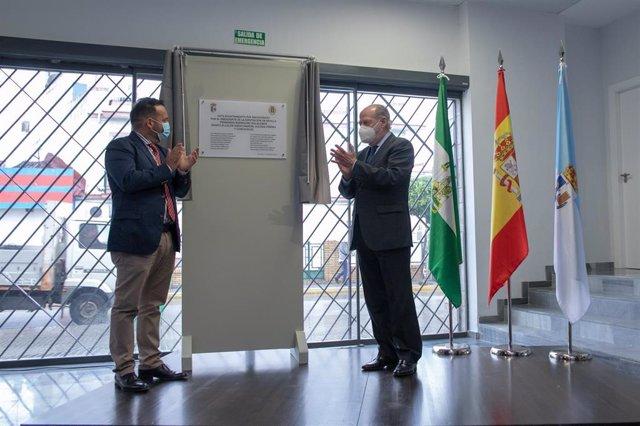 Inauguración del nuevo Ayuntamiento de La Algaba