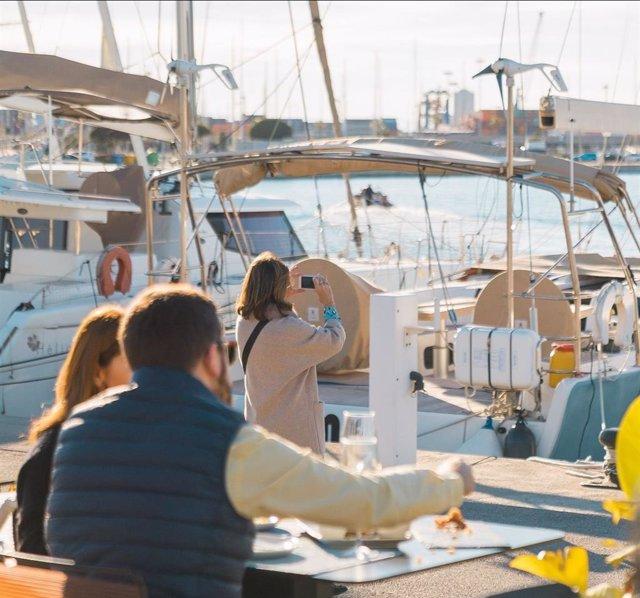 Terraza de La Marina de València