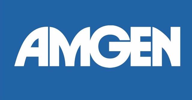Logo de Amgen.