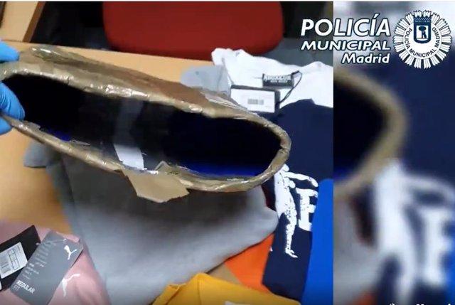 Dos detenidos por hurto y receptación de prensas de marca en Ciudad Lineal