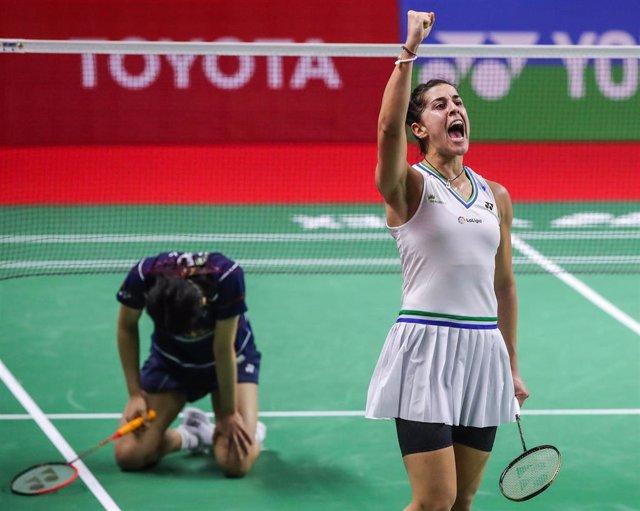 Archivo - Carolina Marín vence a An Se Young en semifinales del Toyota Abierto de Tailandia