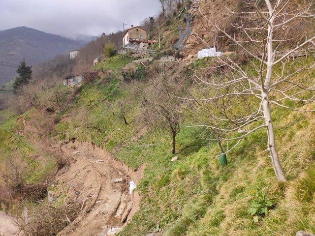 Fotos Dg Admon Local Visita Obras Cuesta De Los Valles La Bárgana En Laviana