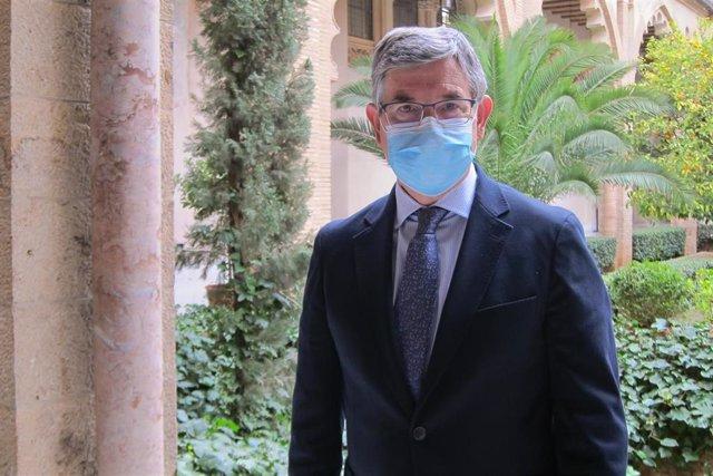 Vicente Guillén, portavoz parlamenrtario Grupo Socialista en las Cortes de Aragón