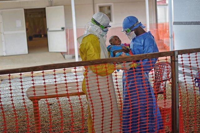Archivo - El úlitmo paciente de ébola en Guinea, Nubia