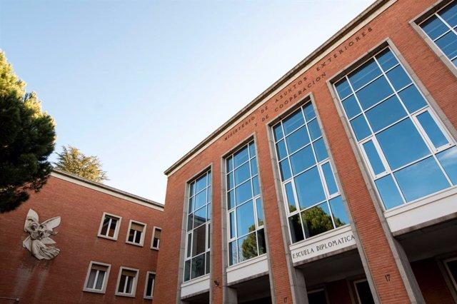 Sede de la Escuela Diplomática en Madrid