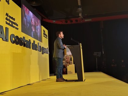 """Aragonès (ERC) demana a Junts, els comuns i la CUP """"intensificar les negociacions"""" per pactar un Govern"""