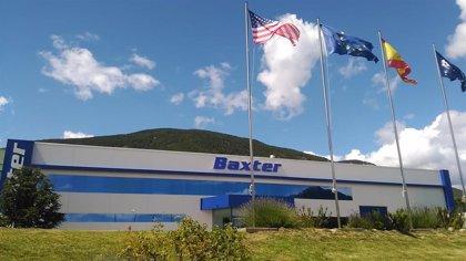 La planta de Baxter en Sabiñánigo produce al año 150 millones de bolsas de suero intravenoso