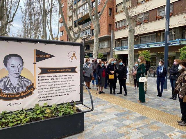 Inauguración de la exposición 'Tiempo de Pioneras'