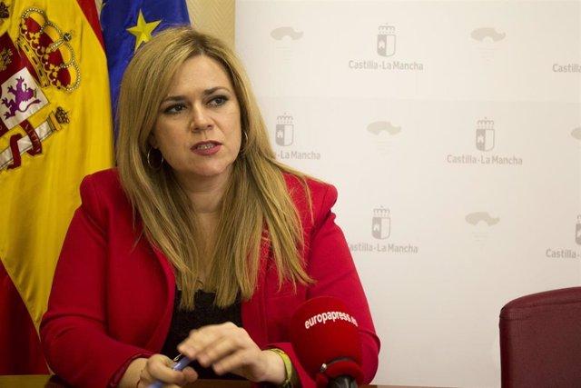 La delegada de la Junta de Castilla-La Mancha en Cuenca, María Ángeles Martínez, en entrevista con Europa Press
