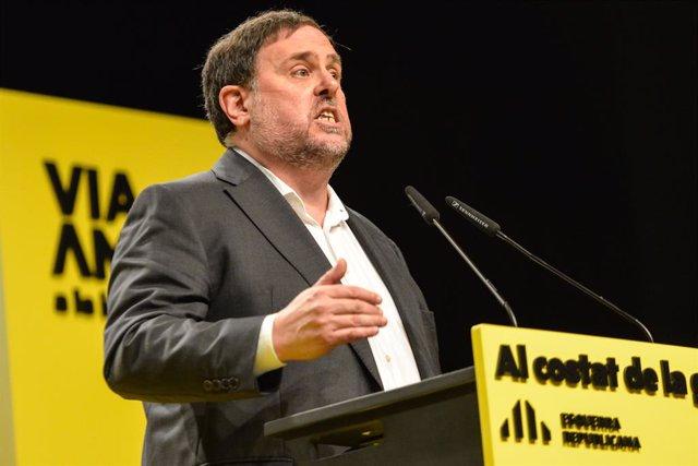 El líder d'ERC, Oriol Junqueras