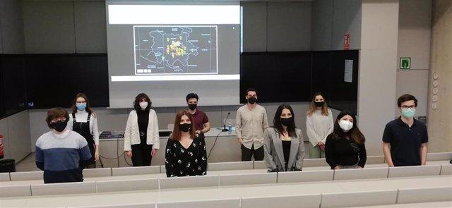Estudiantes de Periodismo de la Universidad de Navarra creadores del Mapa del Miedo de Pamplona