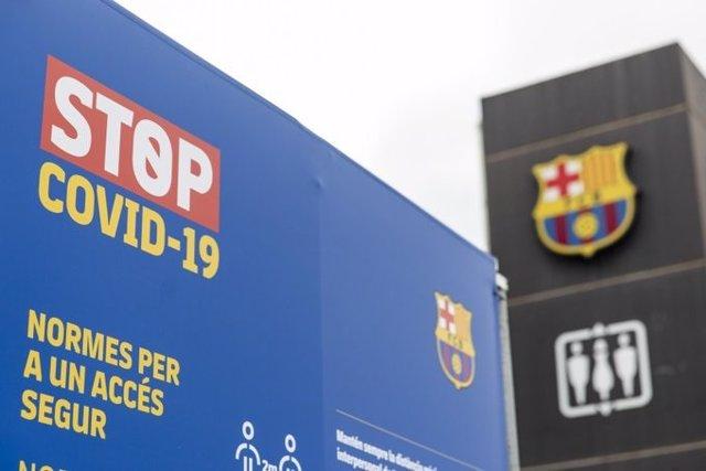 Archivo - Oficinas del FC Barcelona
