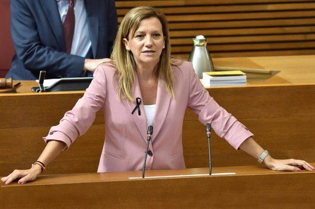 La diputada de Ciudadanos (Cs) en Les Corts Valencianes María Quiles