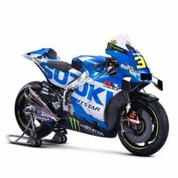 La nueva GSX-RR de Suzuki para la temporada 2021