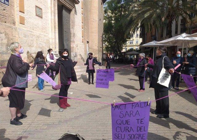 """Red Colaborativa Conjunta"" Celebrada Por La Asamblea Feminista De Russafa Este Sábado En València"