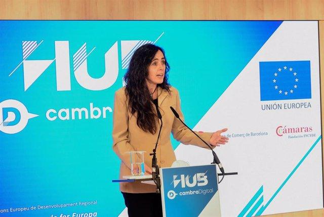 La propera presidenta de la Cambra de Barcelona, Mònica Roca