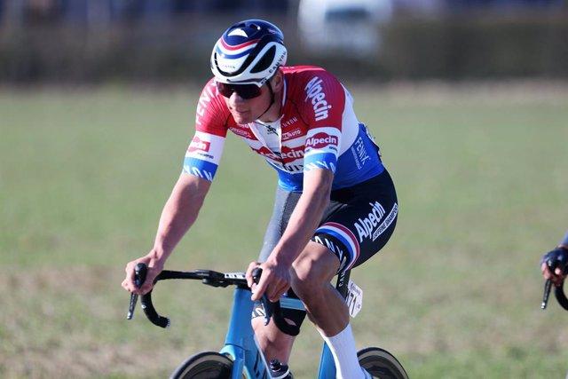 Mathieu van der Poel of Alpecin-Fenix during the Kuurne - Brussel - Kuurne 2021, cycling race on February 28, 2021 in Kuurne, Belgium - Photo Laurent Lairys / DPPI