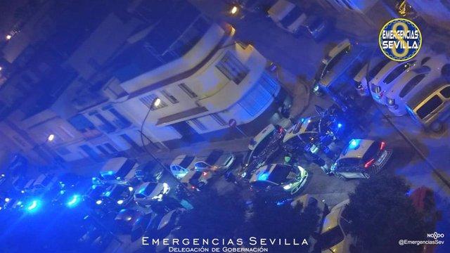 [Sevilla] Información Suceso Cerro Águila