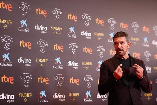El presentador de la Gala el actor Antonio Banderas