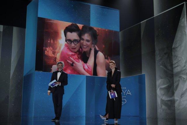 Aránzazu Calleja y Maite Arroitajauregi, Mejor Música Original en los Premios Goya 2021 por 'Akelarre