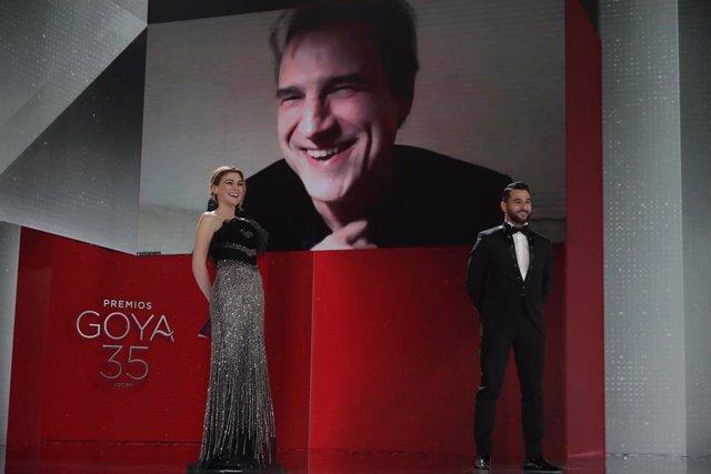 """Alberto San Juan, tras ganar el Goya, se dirige al PSOE: """"Tener un hogar es un derecho humano muy básico"""""""