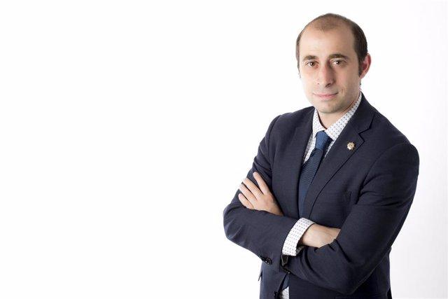 Archivo - El presidente de los Graduados Sociales de Asturias, Marcos Óscar Martínez Álvarez.