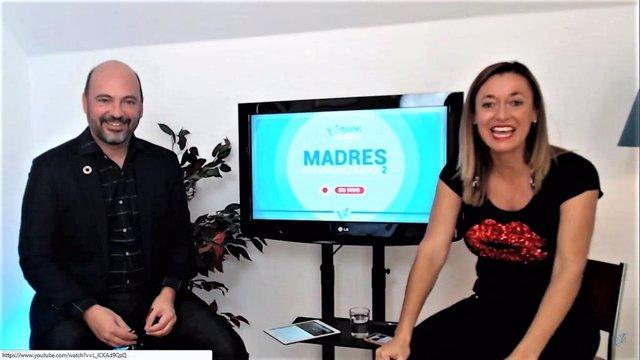 Franc Carreras y Billie Sastre, cofundadores de la comunidad profesional online Mamis Digitales
