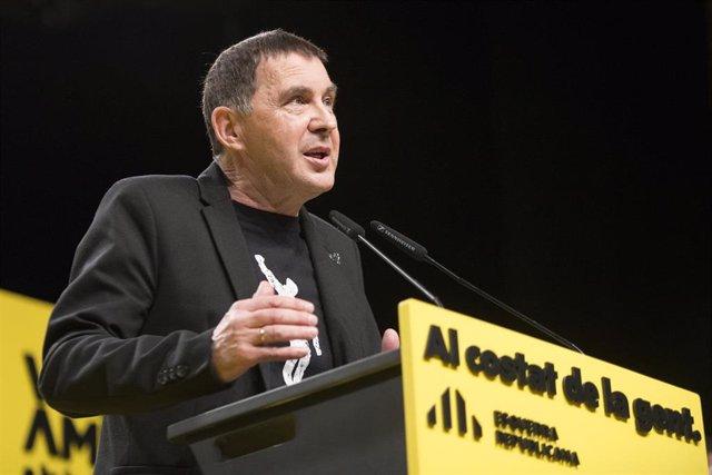 El líder de EH Bildu, Arnaldo Otegi