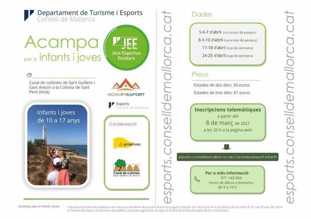 Programa 'Acampaesport'