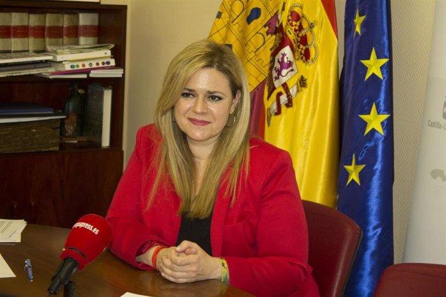 La delegada del Gobierno de Castilla-La Mancha en la provincia de Cuenca, María Ángeles Martínez