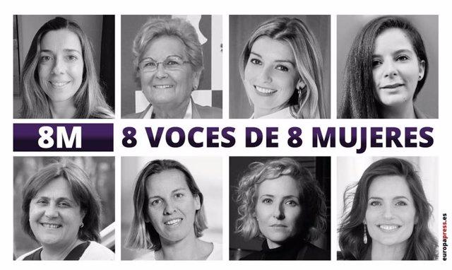 Testimonios de mujeres por el especial de EPSocial del 8 de marzo de 2021