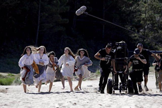 Archivo - Rodaje de la película 'Akelarre'