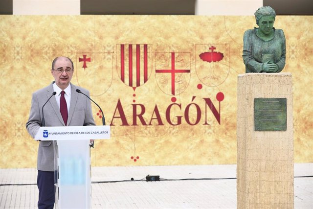 """Lambán: """"Aragón mantiene todas sus opciones para albergar la fábrica de baterías eléctricas""""."""