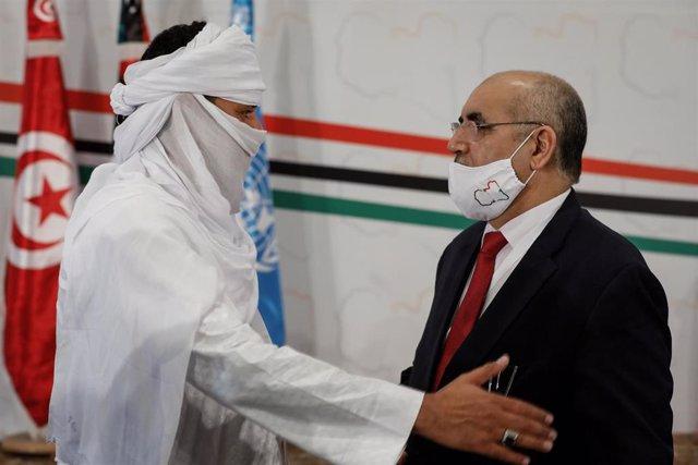 Archivo - Foro del diálogo político libio en Túnez