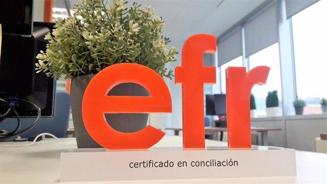 Certificado Efr obtenido por CaixaBank