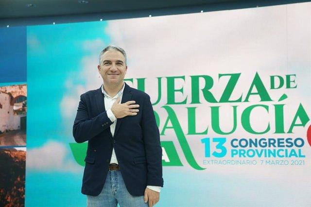 Elías Bendodo, reelegido presidente del PP de Málaga
